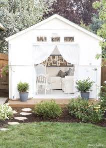 Living Room Makeovers On A Budget by She Shed Makeover Ideas The Weathered Fox