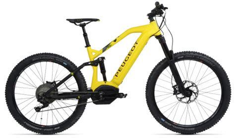 Peugeot Mountain Bike by Peugeot Unveils Its New Electric Mountain Bike With In