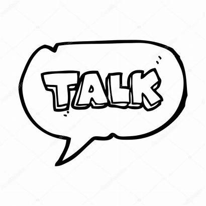 Bubble Speech Talk Cartoon Symbol Illustration Talking