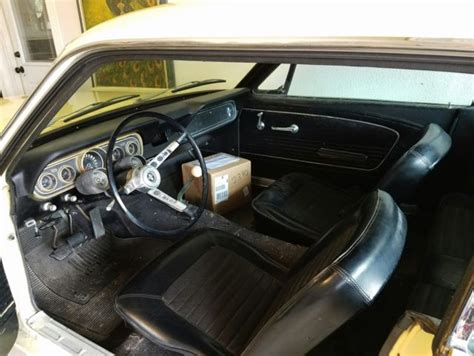 1966 A Code 289 Original Mustang Coupe Low Miles Non