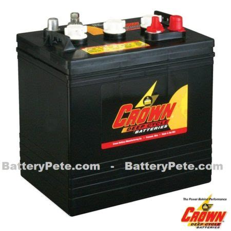 crown cycle golf cart batteries battery pete