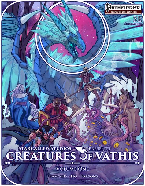 Creature Of Habit Book 1 Volume 1 by Creatures Of Vathis Volume One D D 5e Pathfinder By
