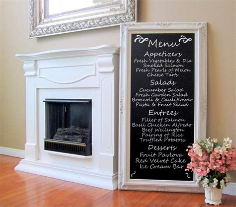 dining room decor wall art french furniture chalkboard