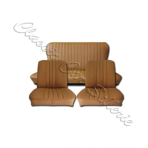 siege triumph spitfire ensemble garnitures de sièges complet av ar simili camello