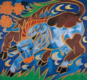 Blaue Kuh Magdeburg : natalia gontscharowa die blaue kuh the blue cow um ~ Watch28wear.com Haus und Dekorationen
