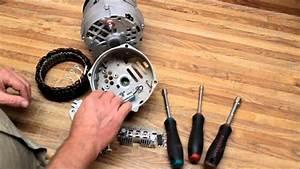 Delco Remy U0026 39 S 10si  U002612si Alternator Repair  U0026 Upgrade Pt 1