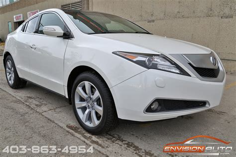 acura technology package 2010 acura zdx technology package envision auto