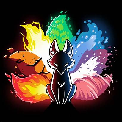 Kitsune Elemental Teeturtle Anime Wolf Drawing Pokemon