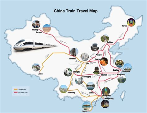 china train map routes travel rail speed route europe railway bullet tourist esngblog esng asia travelchinaguide