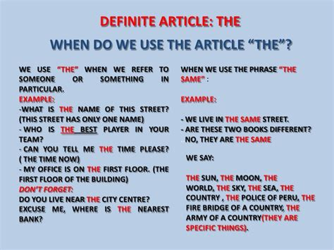 """Definite Article """"the""""  Esl Grammar  Pinterest  English Course, Loan Interest Rates And"""