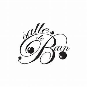 Stickers Porte Salle De Bain : stickers pour salle de bain textes et lettrage pour porte ~ Dailycaller-alerts.com Idées de Décoration