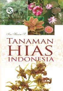buku tanaman hias indonesia penebar swadaya