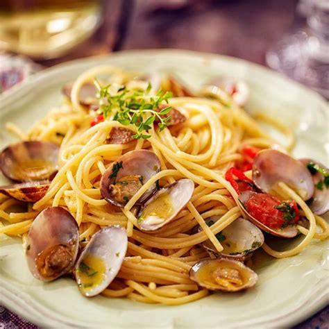 spaghetti aux fruits de mer nos recettes lustucru