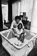 Pedro Ferrer and wife, Mary Wilson and their child.   Mary ...