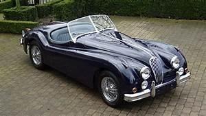 '54 Jaguar XK 140 OTS SE - Union Jack Vintage Cars