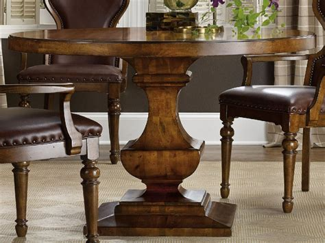 Hooker Furniture Tynecastle Medium Wood 48'' Wide Round. Counter High Dining Table Set. Tray Coffee Table. Table For 12. Driftwood Coffee Table. Folding Desk Bed. 10 Ft Table. White Art Desk. Bankers Desk Lamp Shade Replacement