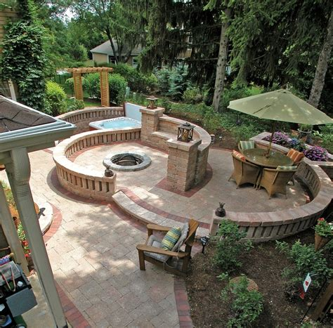 unilock patio ideas patio ideas with firepit best unilock entryway and