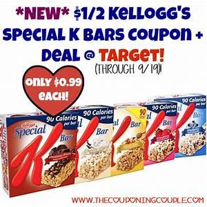 *NEW* $1/2 Kellogg's Special K Bars Coupon + Deal @ Target!