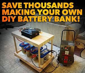 Get Build Your Own Solar Battery Bank