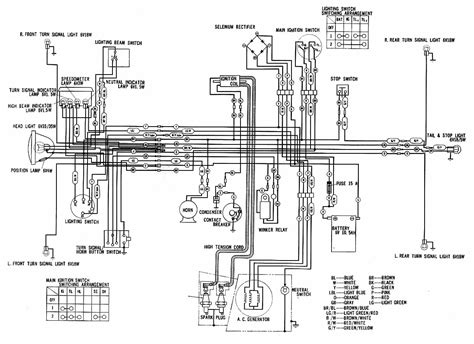 honda cd wiring diagram