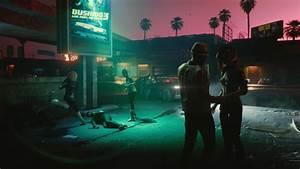 wallpaper cyberpunk 2077 e3 2018 screenshot 4k