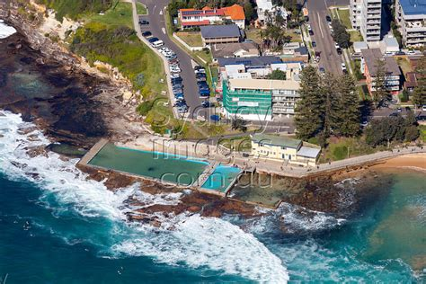 sydney aerial photography dee  rock pool