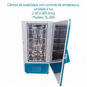 C U00e2mara Clim U00e1tica Com Controle De Umidade Relativa E Temperatura