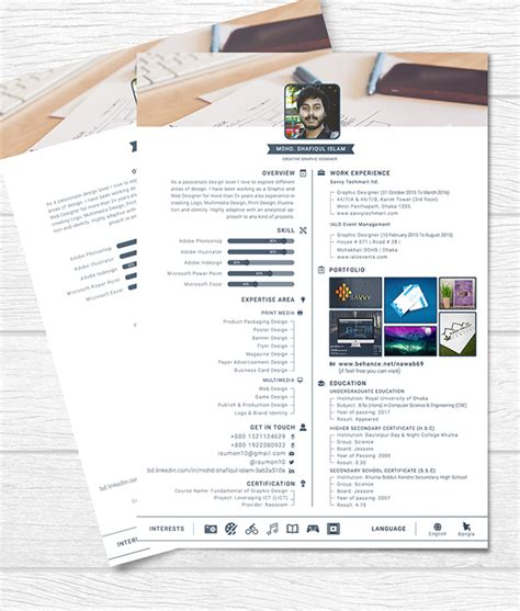 fresh free resume templates freebies graphic design