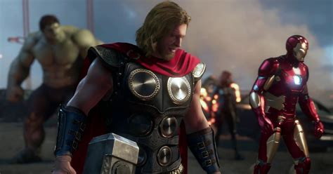 marvels avengers game      trailer gameplay reveal polygon