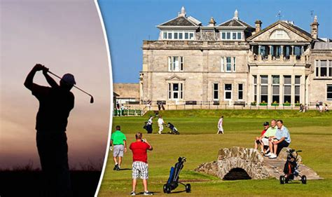 golf st course andrews andrew scotland express crown once again crowned