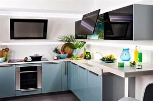 Meuble Cuisine Darty : meuble darty cuisine bleu gris meubles inspiration de conception ~ Preciouscoupons.com Idées de Décoration