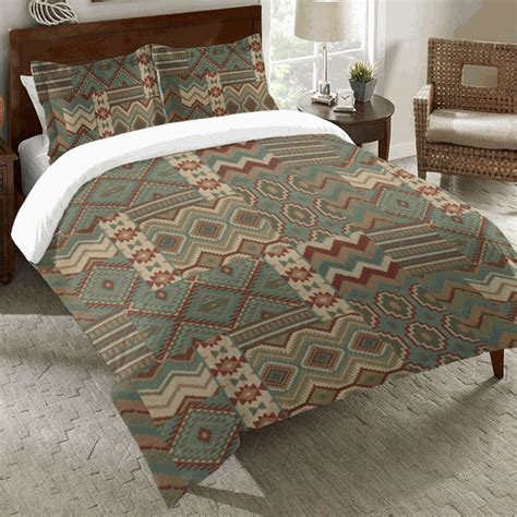western bedding king size southwest collage duvet cover
