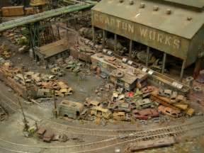 Model Railroad Yard Layout