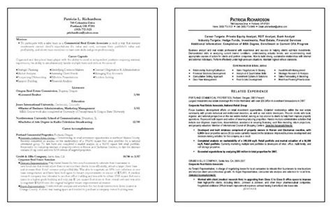 business analyst resume template by richardson