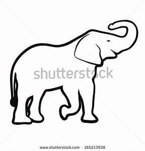 Indian Elephant Drawing Outline | Clipart Panda - Free ...