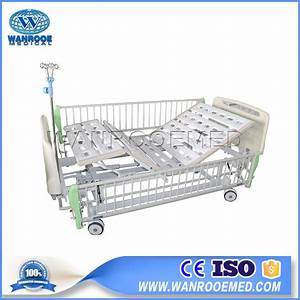 China Abs Hospital Bed  Double Crank Hospital Bed  2