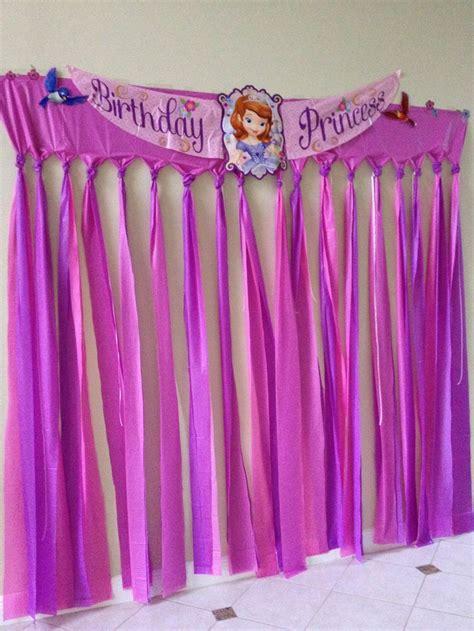 cumpleanos decorado de princesa sofia tips de madre