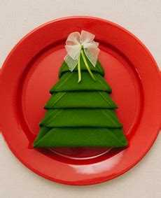 tip of the day christmas tree napkin fold the nibble