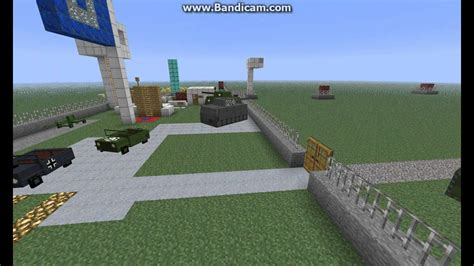 Minecraft Army Base Part 1 Youtube