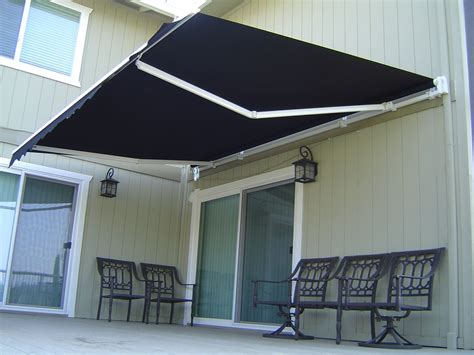 Roll Out Patio Window Door Outdoor Awning, 3 Sizes