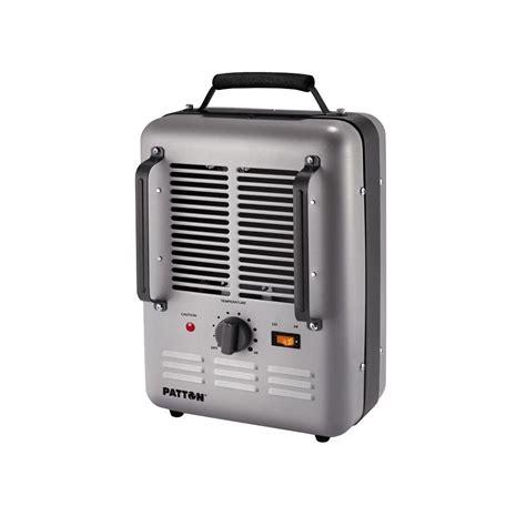 garage space heater patton 1500 watt utility space heater puh680 u the home