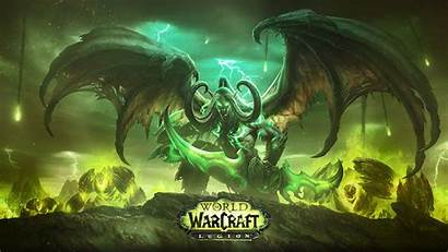 Warcraft Legion Wow Animated Wallpapers Pc Background