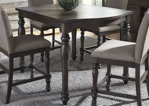 dining tables catawba peppercorn extendable gathering dining table 2090