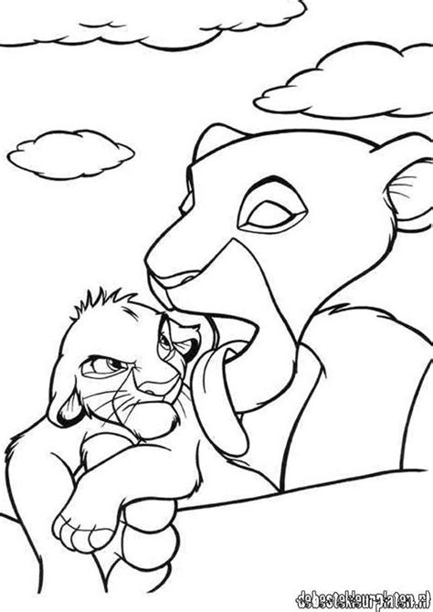 lionking printable coloring pages