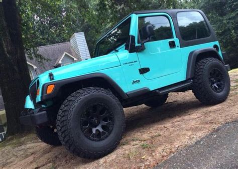 white and teal jeep tiffany blue jeeps and baby blue on pinterest
