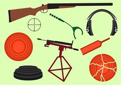 Clay Pigeon Vector Equipment Shooting Svg Laser