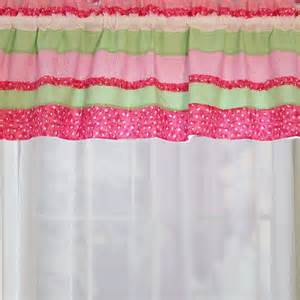 shop my world anna s ruffle 70 in pink valance at lowes com