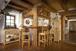 Le Grenier Alpin : grenier alpin sp cialiste du mobilier en bois massif et ~ Melissatoandfro.com Idées de Décoration