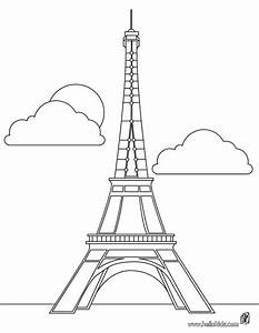 Eiffel tower coloring pages and stencils clip art wallhi ...