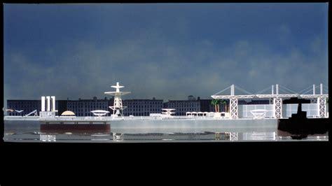 bordeaux port de la lune non construit christian de